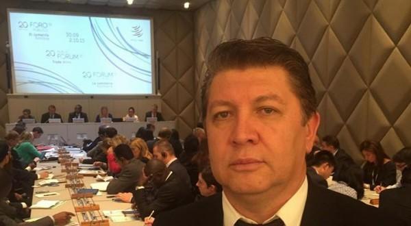 Deputado Jefferson Campos participa de Fórum na Organização Mundial do Comércio