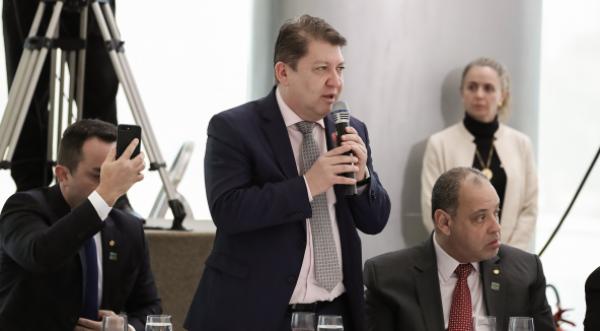CAFÉ DA MANHÃ DA BANCADA EVANGÉLICA COM O PRESIDENTE BOLSONARO